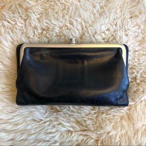 HOBO Original Lauren Single-Frame Leather Wallet